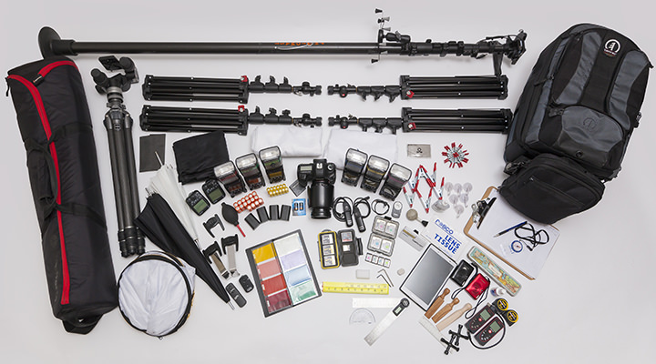 Property photography equipment