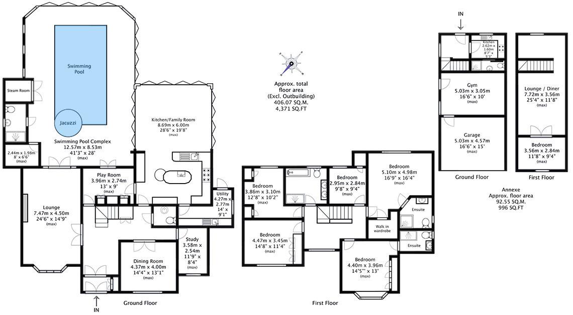 Floor plan drawn to RICS code of measuring practice