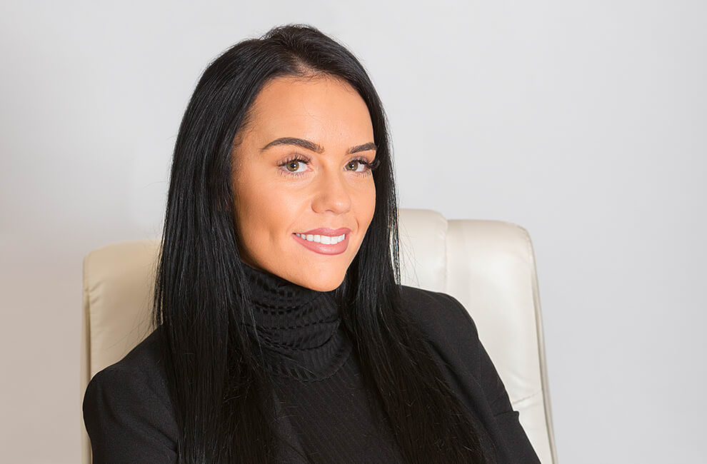 Headshot of a property consultant
