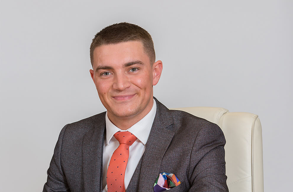 Professional headshot photography of a property consultant