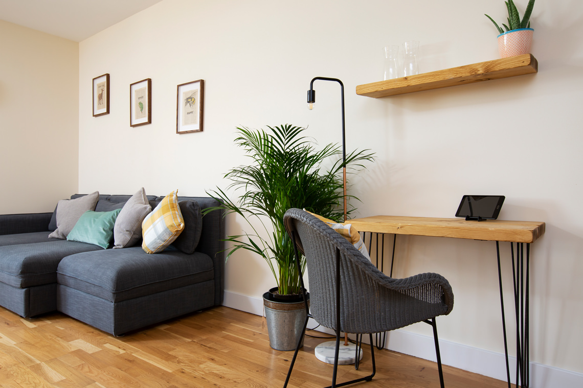 Stunning serviced apartment photography